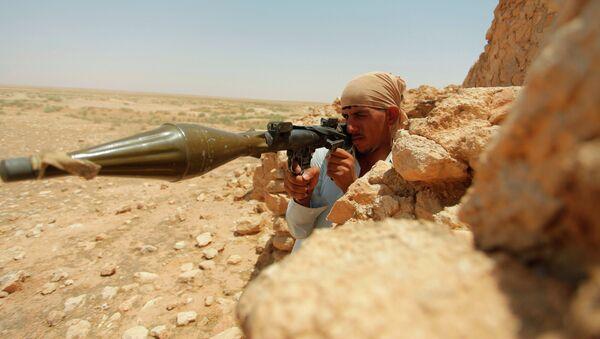 Иракский боевик. Архивное фото