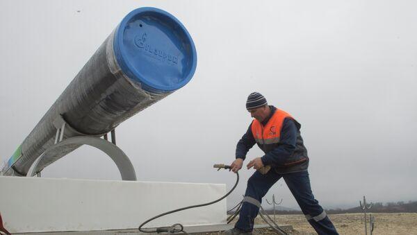 Строительства газопровода. Архивное фото