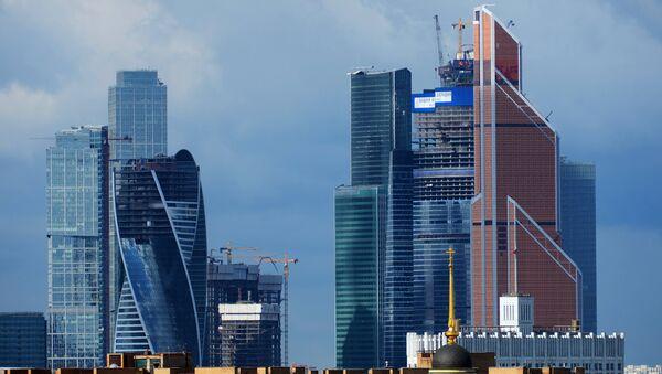 Московский международный деловой центр Москва-сити на Краснопресненской набережной. Архивное фото