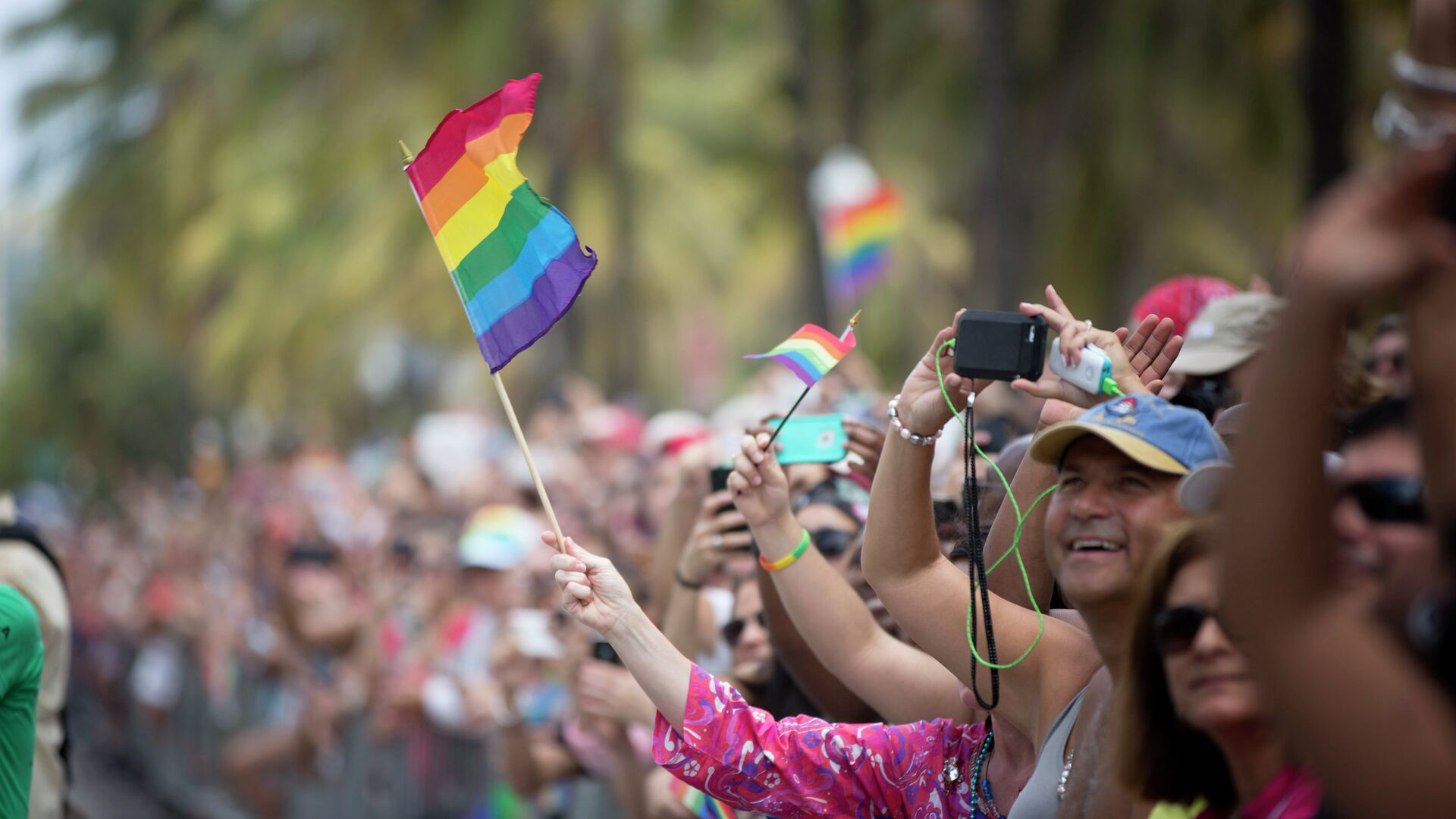 Гей-парад во Флориде, США - РИА Новости, 1920, 30.06.2021