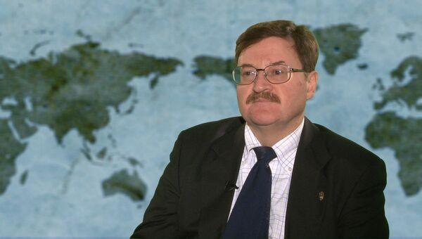 Главный советник Российского института стратегических исследований Владимир Козин