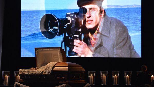 Прощание с телеоператором Анатолием Кляном, архивное фото
