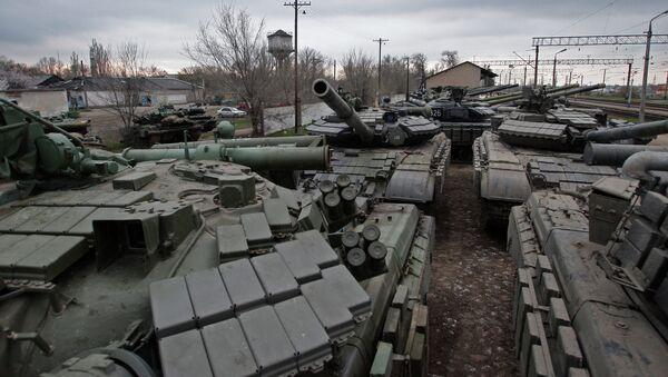 Украинская военная техника. Архивное фото.