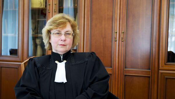 Председатель Суда по интеллектуальным правам Людмила Новоселова