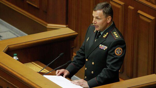 Генерал-полковник украинской Валерий Гелетей
