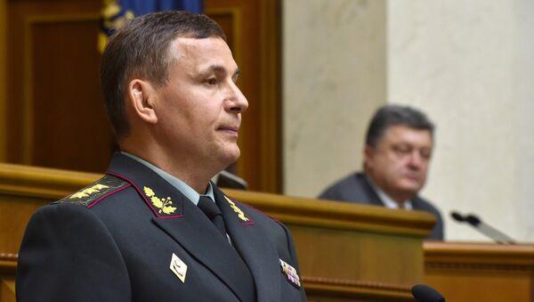 Министр обороны Украины Валерий Гелетей. Архивное фото.