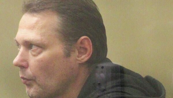 Подсудимый Игорь Черных в зале заседаний Краснодарского краевого суда. Архивное фото
