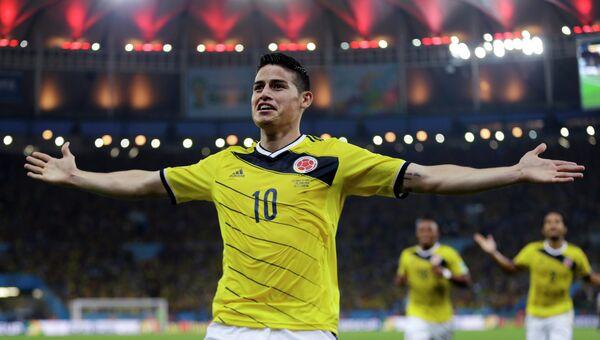 Колумбийский футболист Хамес Родригес. Архивное фото