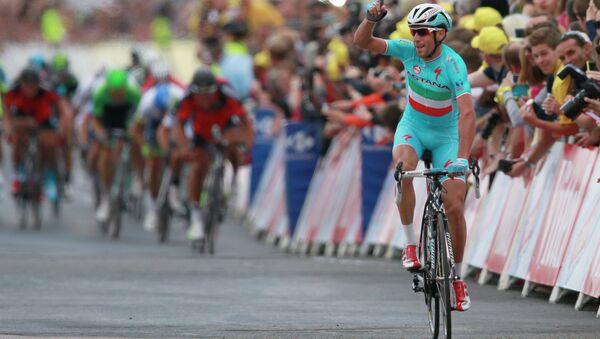 Итальянский велогонщик Винченцо Нибали. Архивное фото