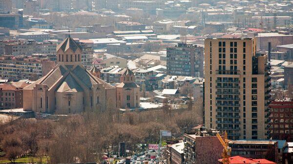 Вид на Ереван