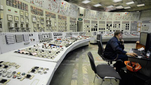 Пульт управления турбоагрегатами ТЭЦ. Архивное фото