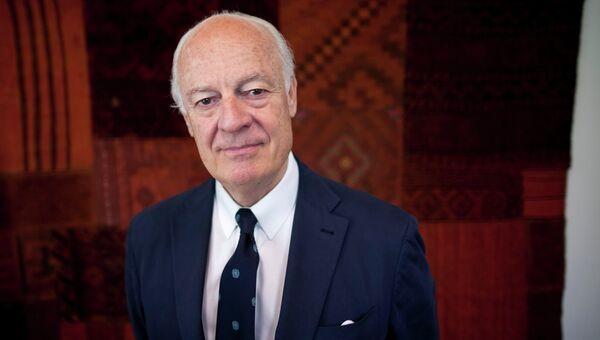 Специальный представитель генсека ООН по Сирии Стеффан де Мистура