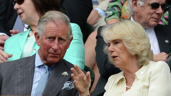 Принц Уэльский Чарльз с супругой герцогиней Корнуолльской Камиллой. Архивное фото