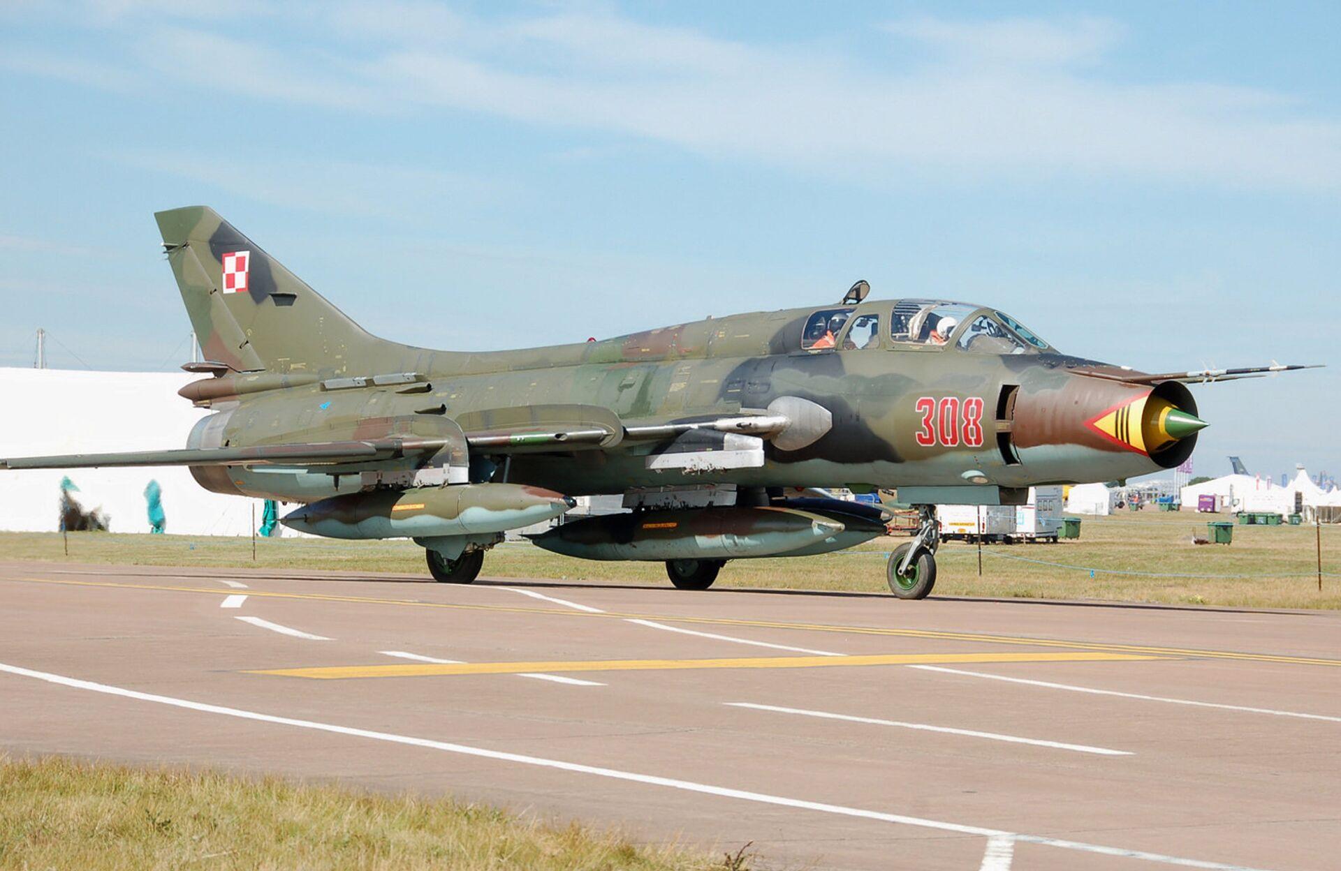 Советский истребитель-бомбардировщик СУ-17 - РИА Новости, 1920, 31.03.2021