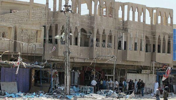 Последствия терактов в Багдаде 19 июля 2014 года