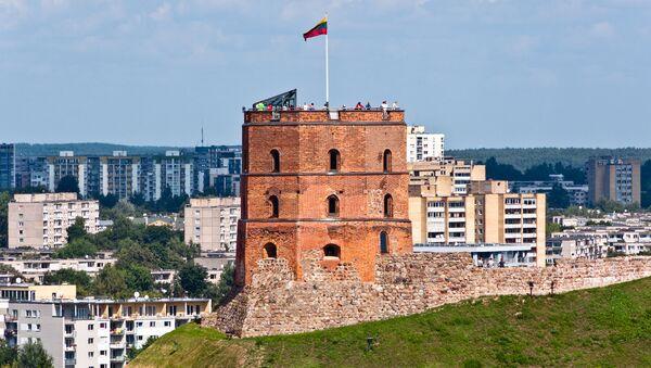Башня Гедимина в Вильнюсе, Литва. Архивное фото