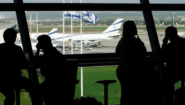Аэропорт Бен-Гуриона около Тель-Авива. Архивное фото