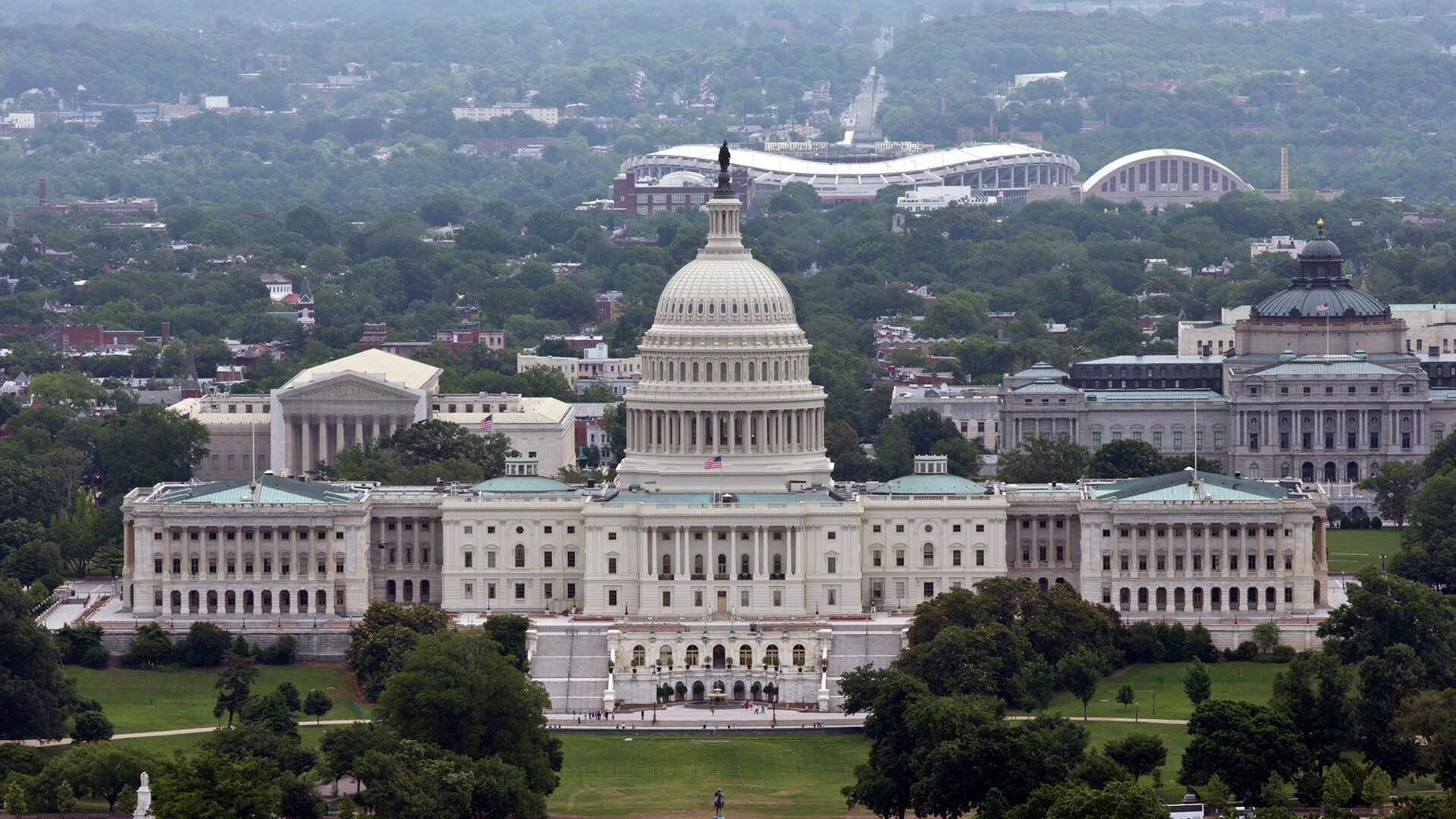 Здание Конгресса США в Вашингтоне - РИА Новости, 1920, 09.06.2021