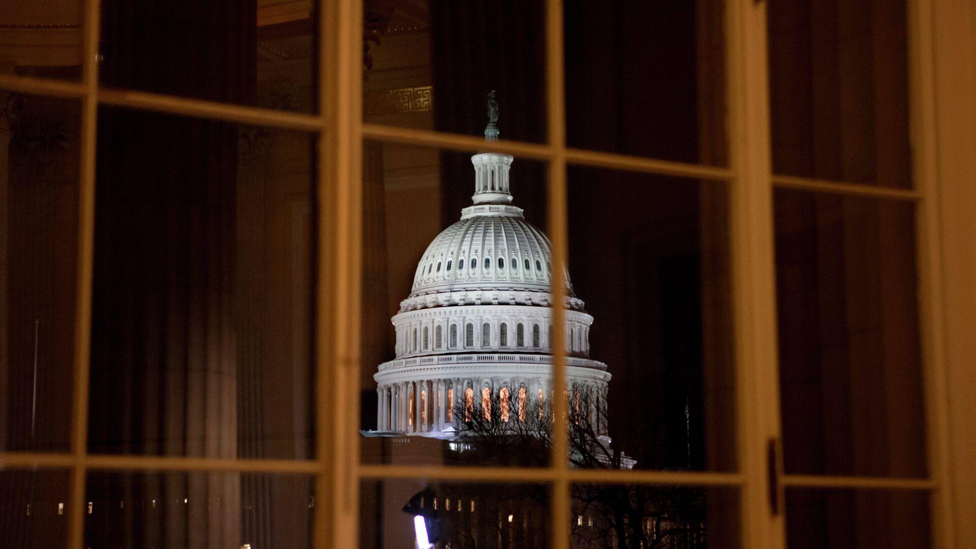 Здание Конгресса США в Вашингтоне - РИА Новости, 1920, 22.09.2020