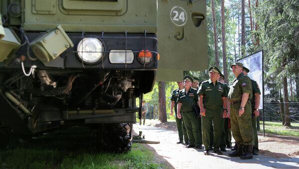 С. Шойгу проинспектировал Тейковский дивизион с ракетным комплексом (ПГРК) Ярс