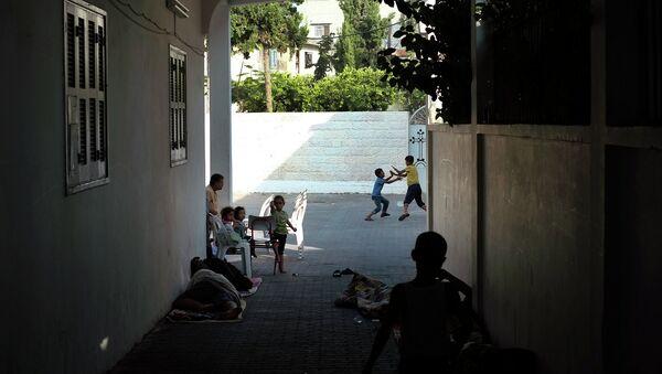 На территории сектора Газа. Архивное фото