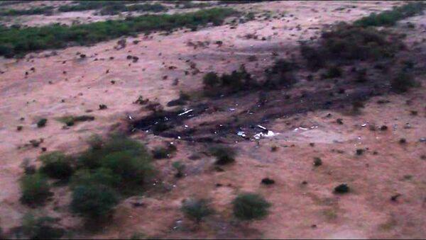 На месте крушения самолета компании Air Algerie в Мали