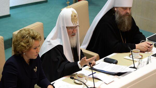 Рождественские парламентские слушания с участием Патриарха Кирилла