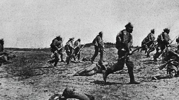 Русские войска в годы Первой мировой войны