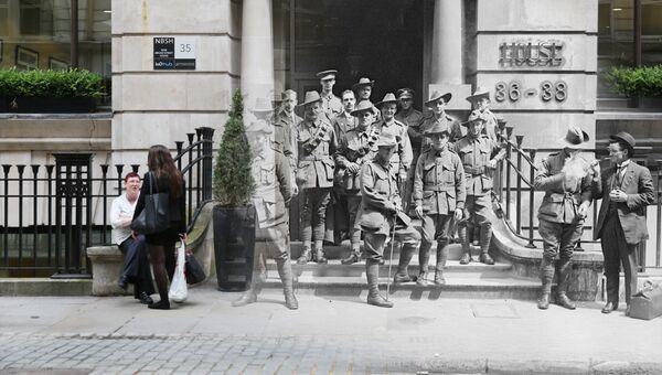 Фотоколлаж к 100-летию начала Первой мировой войны