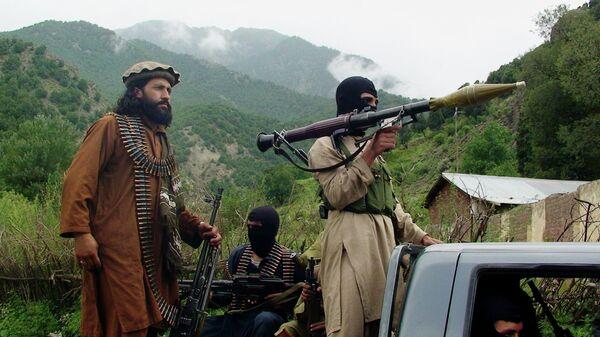 Члены движения Талибан. Архивное фото