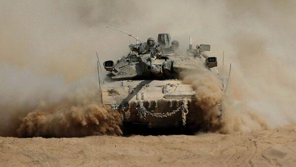Израильские военный в секторе Газа. Архивное фото