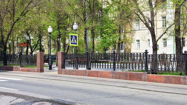 Покровский бульвар. Архивное фото