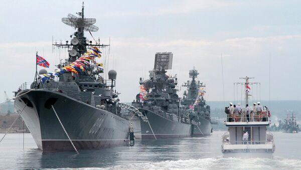 Черноморский флот в Севастополе. Архивное фото