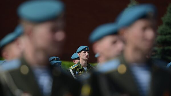 Военнослужащие ВДВ России. Архивное фото