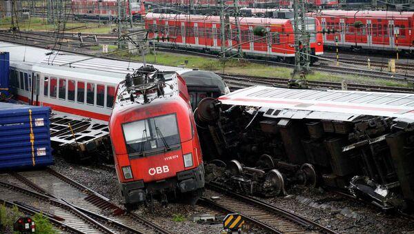 Железнодорожная катастрофа в Мангейме 2 августа 2014 года