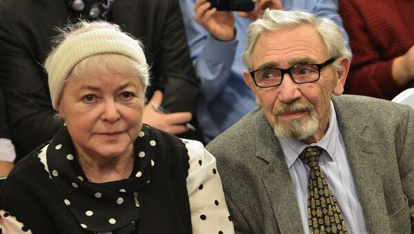 Родители Михаила Ходорковского. Архивное фото