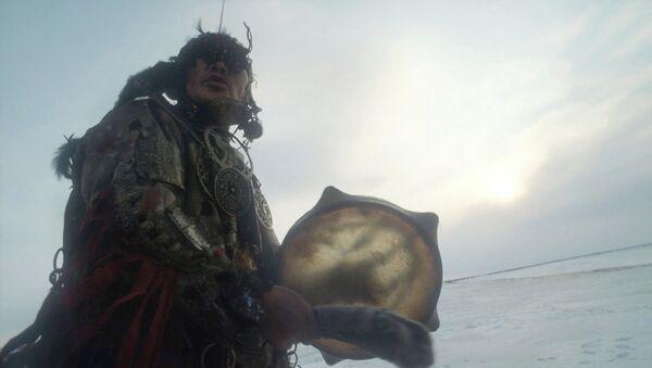 Один из последних нганасанских шаманов Дельсюмяку Костеркин