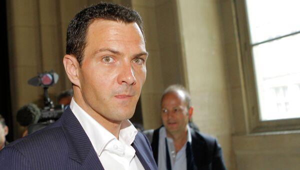 Трейдер банка Societe Generale Жером Кервьель в суде в Париже