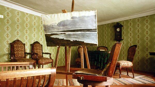 В Доме-музее Исаака Левитана в городе Плёс. Архивное фото