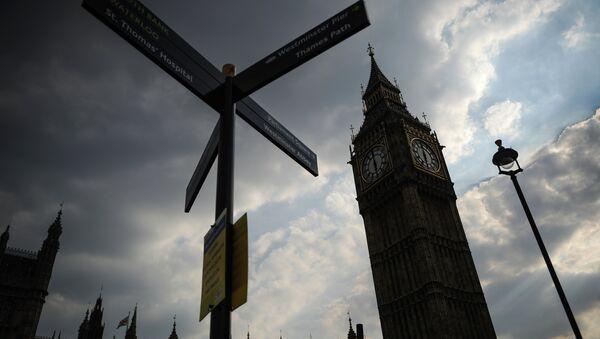 Часовая башня Биг Бен Вестминстерского дворца в Лондоне