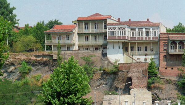 Ситуация в Тбилиси. Архивное фото