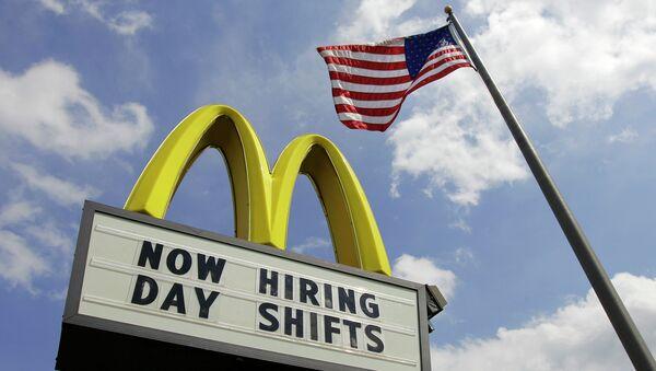 Ресторан Макдоналдс в США. Архивное фото