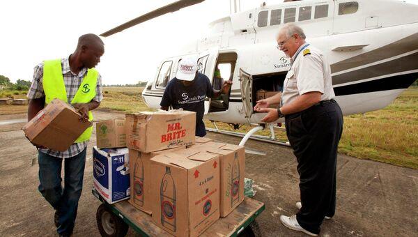 Доставка продуктов и предметов первой необходимости в Либерию