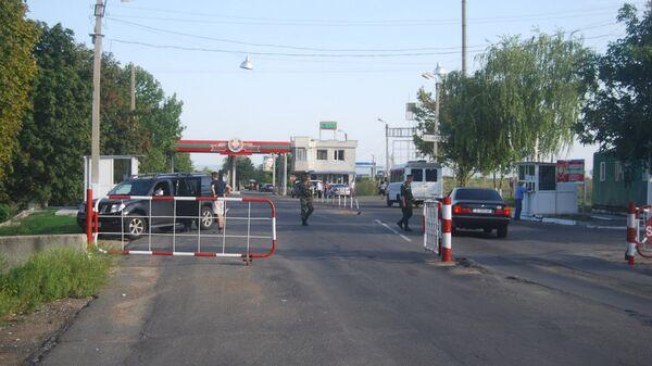 КПП на границе Украины и Молдавии