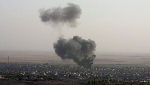 Удар ВВС США по Ираку
