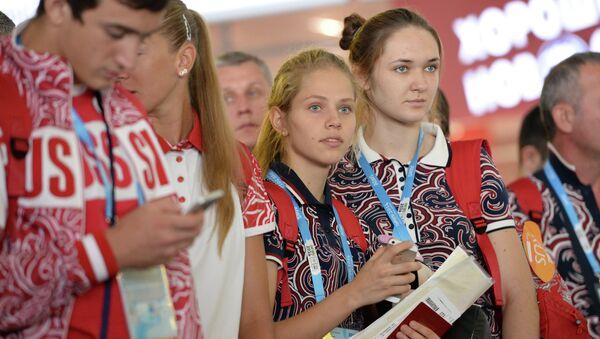 Российские тхэквондистки Татьяна Кудашова и Юлия Турутина. Архивное фото