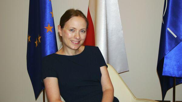 Катажина Пелчиньска-Наленч, новый посол Польши в России. Архивное фото