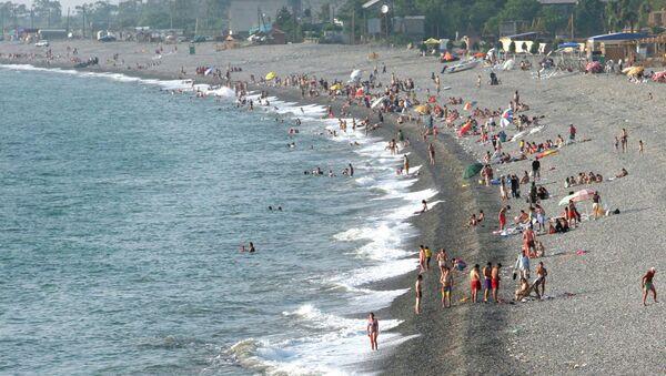 Побережье Черного моря под Батуми. Архивное фото