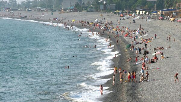 Побережье Черного моря под Батуми