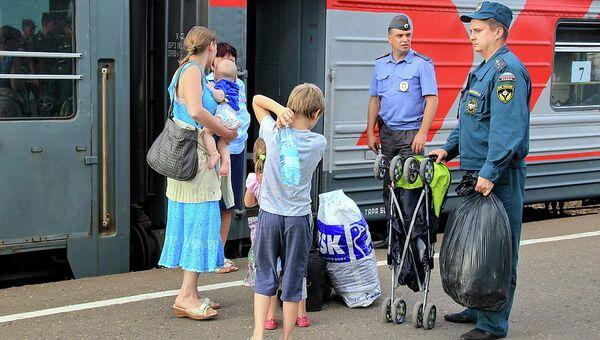 В Смоленскую область прибыло порядка 400 жителей Украины